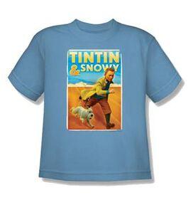 Adventures of Tintin Snowy Juvenile T-Shirt