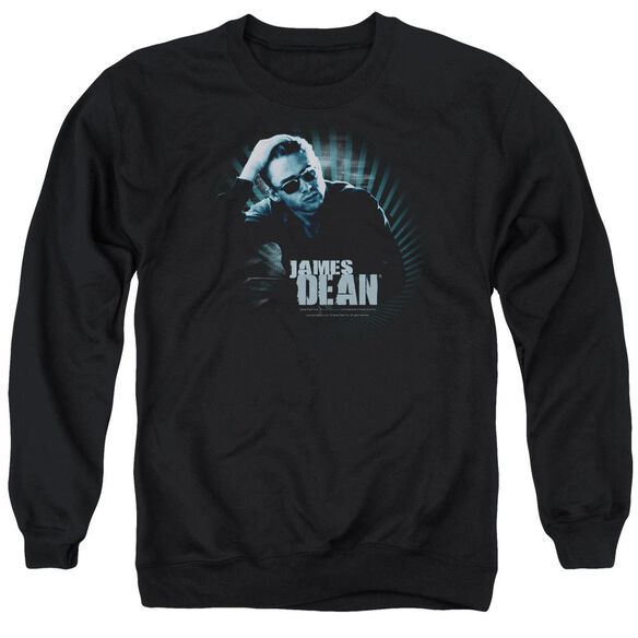 Dean Sunglasses At Night Adult Crewneck Sweatshirt