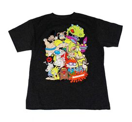 Nickelodeon Animated Characters Kids T-Shirt