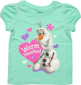 Frozen Olaf Warm Hearted Toddler T-Shirt