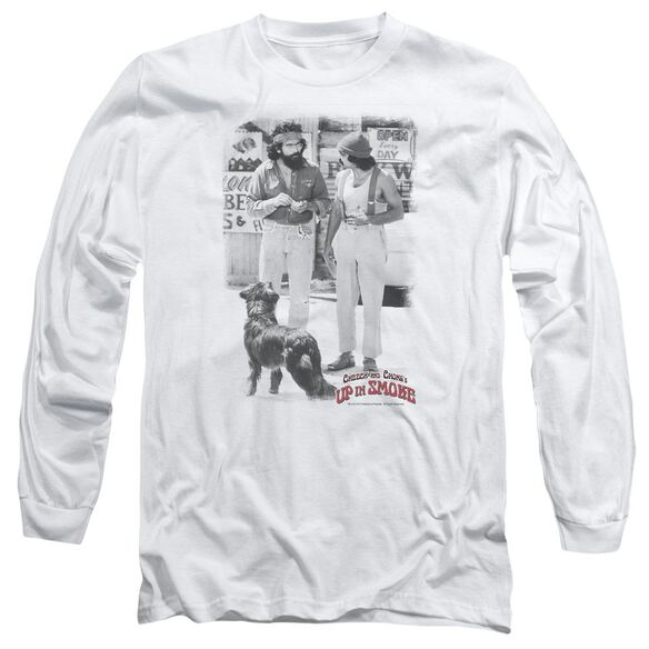 Up In Smoke Square Long Sleeve Adult T-Shirt