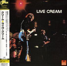 Cream - Live Cream, Vol. 1