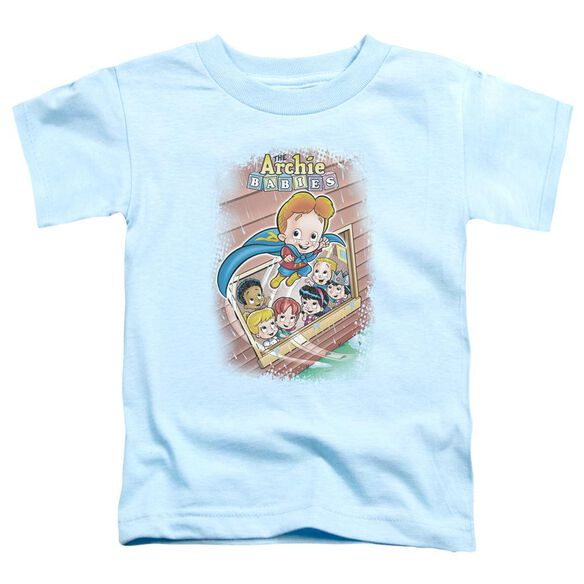 Archie Babies Rainy Day Hero Short Sleeve Toddler Tee Light Blue Lg T-Shirt