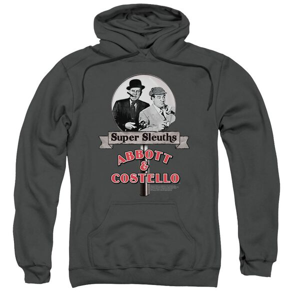 Abbott & Costello Super Sleuths Adult Pull Over Hoodie