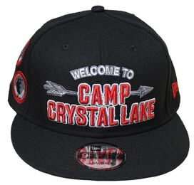 Friday the 13th Welcome to Camp Crystal Lake Snapback Hat