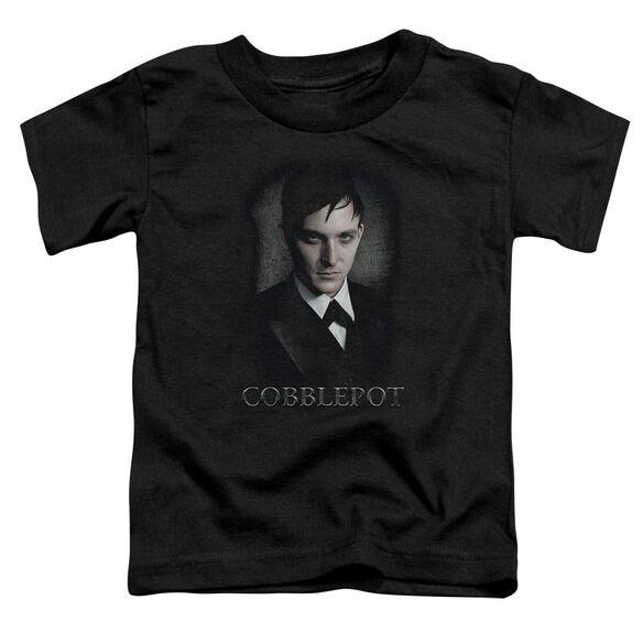 Gotham Cobblepot Short Sleeve Toddler Tee Black T-Shirt