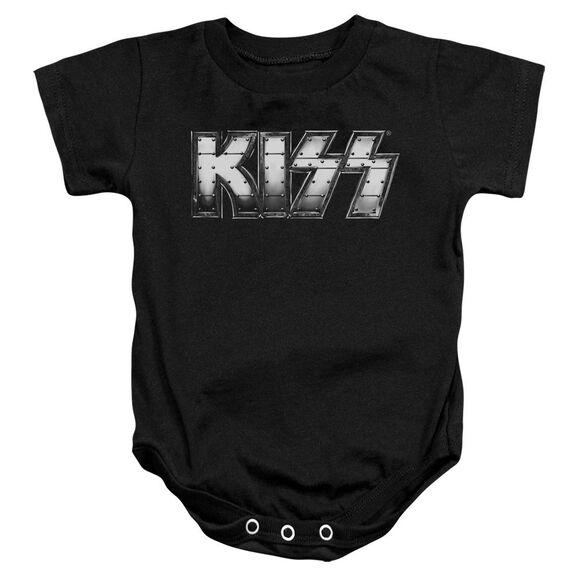 Kiss Heavy Metal Infant Snapsuit Black