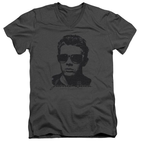 Dean Shades Short Sleeve Adult V Neck T-Shirt