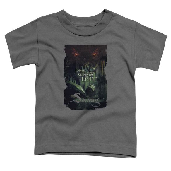 Hobbit Taunt Short Sleeve Toddler Tee Charcoal T-Shirt