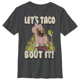 Uncle Grandpa Taco Bout It Youth T-Shirt