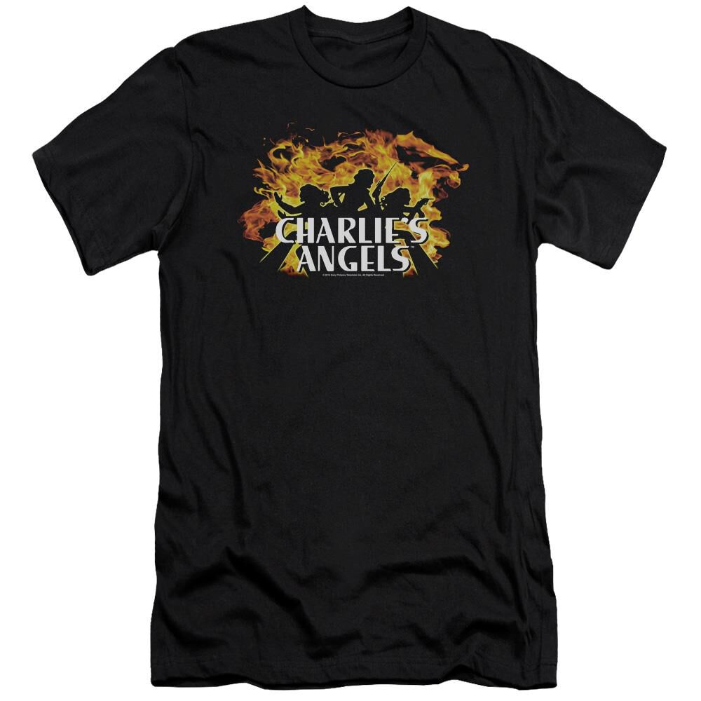 Charlies Angels Fire Hbo Short Sleeve Adult T-Shirt ...