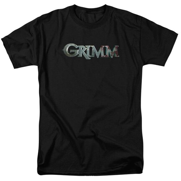 Grimm Bloody Logo Short Sleeve Adult T-Shirt