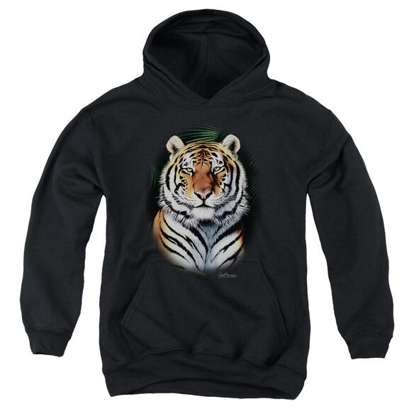 Wildlife Jungle Fire Youth Pull Over Hoodie