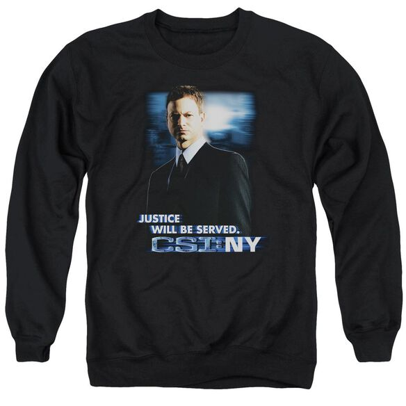 Csi:Ny Justice Served Adult Crewneck Sweatshirt