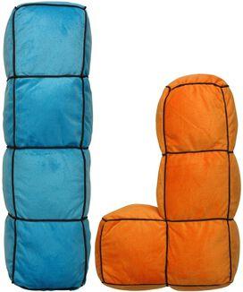 Tetris Pieces Five Piece Pillow Set