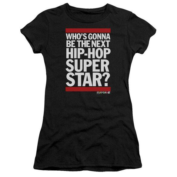 The Rap Game Next Hip Hop Superstar Short Sleeve Junior Sheer T-Shirt