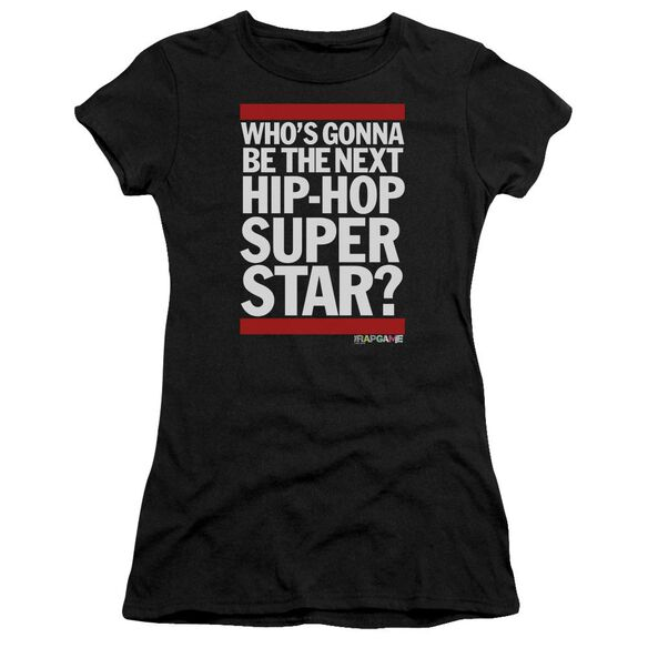 The Rap Game Next Hip Hop Superstar Hbo Short Sleeve Junior Sheer T-Shirt