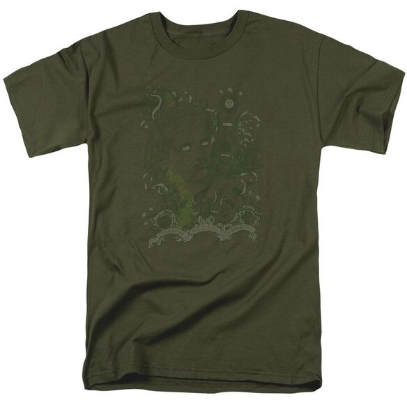 GOD OF MUSIC - ADULT 18/1 - MILITARY GREEN T-Shirt