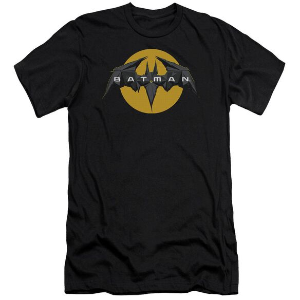 Batman Unlimited Tech Logo Short Sleeve Adult T-Shirt
