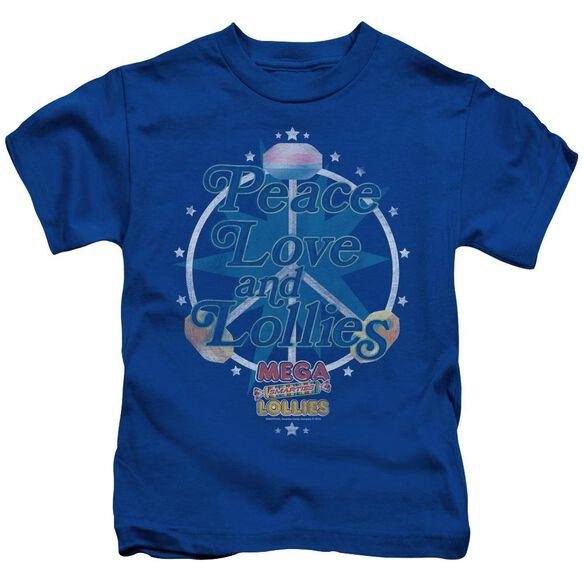 SMARTIES PEACE LOLLIES - S/S JUVENILE 18/1 - ROYAL BLUE - T-Shirt
