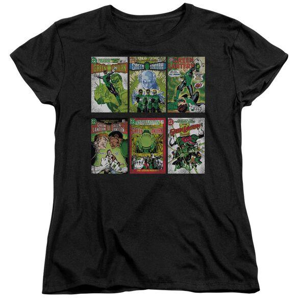 Green Lantern Gl Covers Short Sleeve Women's Tee T-Shirt