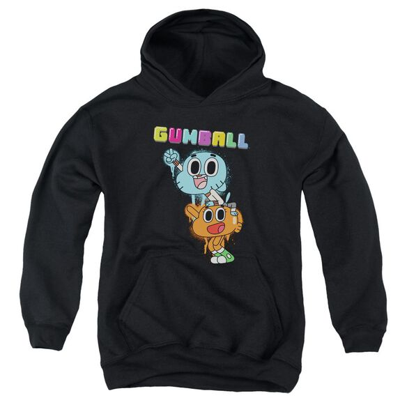 Amazing World Of Gumball Gumball Spray Youth Pull Over Hoodie