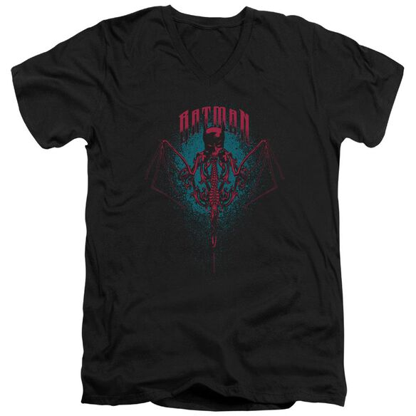 Batman Carpe Nocturn Short Sleeve Adult V Neck T-Shirt
