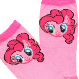 My Little Pony Pinkie Pie Head Crew Socks