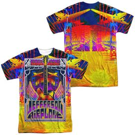 Jefferson Airplane San Francisco (Front Back Print) Short Sleeve Adult Poly Crew T-Shirt