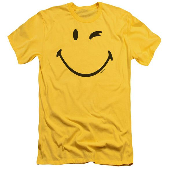 Smiley World Big Wink Premuim Canvas Adult Slim Fit