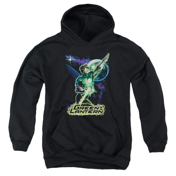 Jla Hal Galaxy Youth Pull Over Hoodie