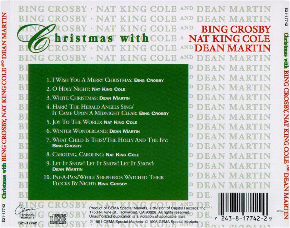 Christmas Bing Crosby Nat King Cole & Dean Martin
