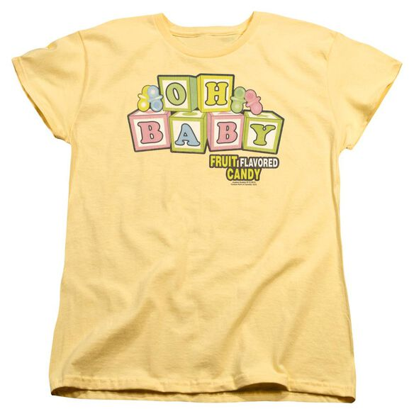 Dubble Bubble Oh Baby Short Sleeve Womens Tee T-Shirt