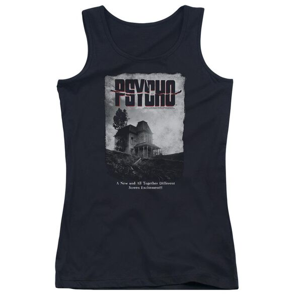 Psycho House Poster Juniors Tank Top