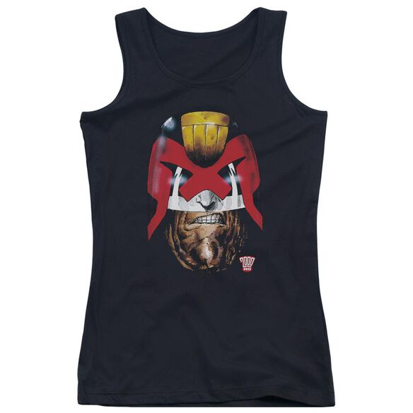 Judge Dredd Dredd's Head Juniors Tank Top