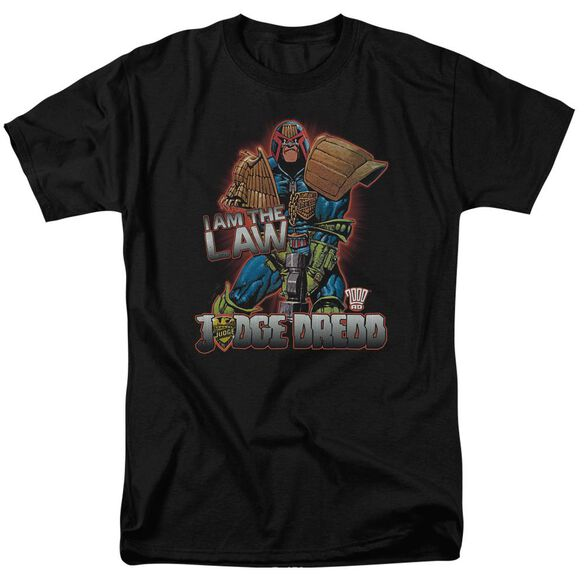 Judge Dredd Law Short Sleeve Adult T-Shirt
