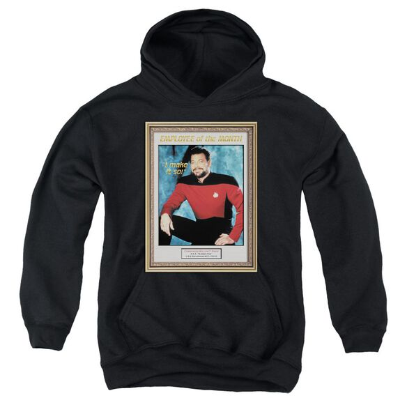 Star Trek Employee Of Month Youth Pull Over Hoodie