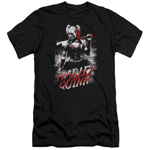 Batman Arkham Knight Quinn City Short Sleeve Adult T-Shirt