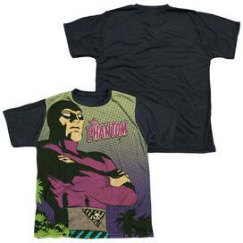 Phantom Phantom Island Short Sleeve Youth Front Black Back T-Shirt