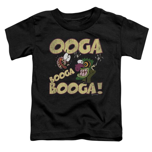 Courage Ooga Booga Booga Short Sleeve Toddler Tee Black Lg T-Shirt