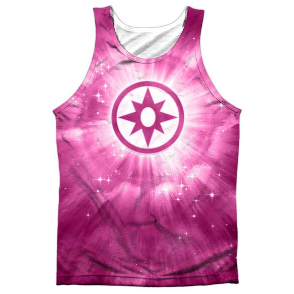 Green Lantern Sapphire Energy Adult 100% Poly Tank Top