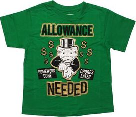 Monopoly Allowance Needed Youth T-Shirt
