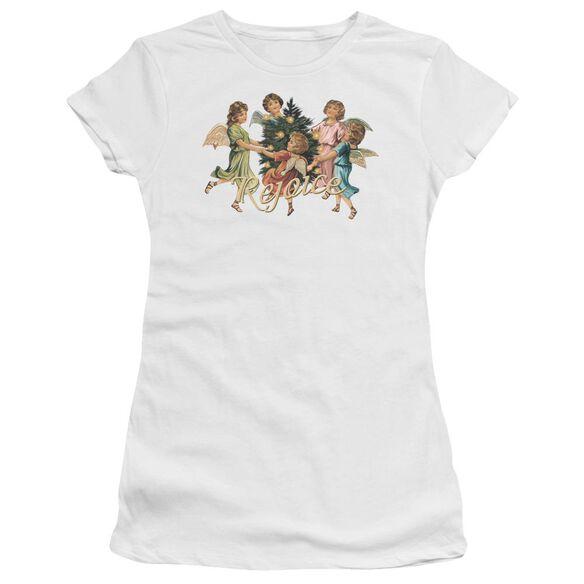 Rejoice Short Sleeve Junior Sheer T-Shirt