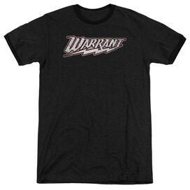 Warrant Warrant Logo Adult Ringer