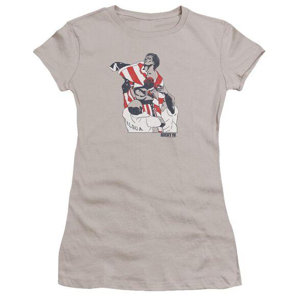 Rocky Graphic Flag Premium Bella Junior Sheer Jersey