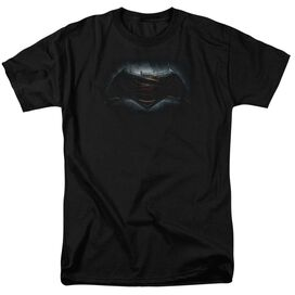 Batman V Superman Logo Short Sleeve Adult T-Shirt