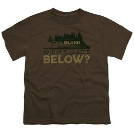 The Curse Of Oak Island What Lies Below Short Sleeve Youth T-Shirt