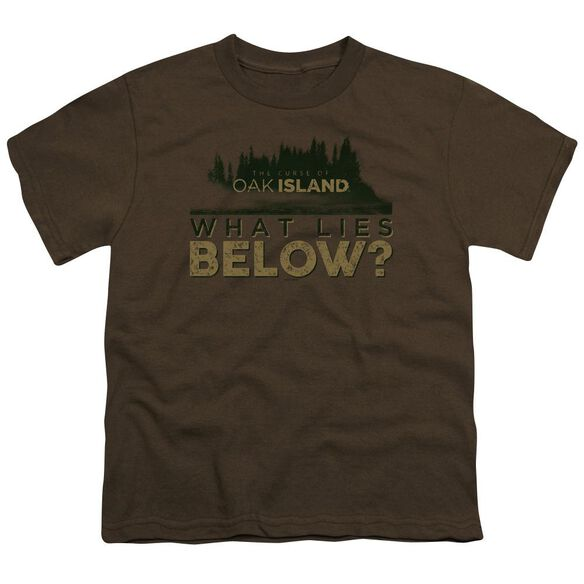 The Curse Of Oak Island What Lies Below Short Sleeve Youth T-Shirt