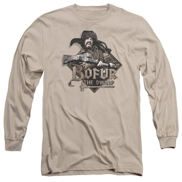 The Hobbit Bofur Long Sleeve Adult T-Shirt