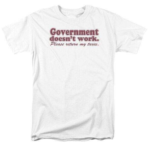 Doesnt Work Short Sleeve Adult T-Shirt